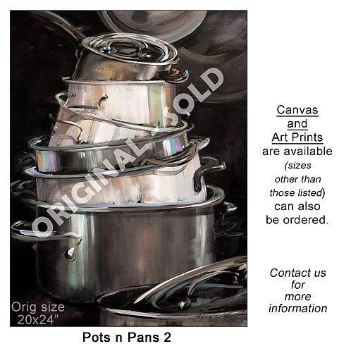 """Pots n Pans 2 - print"""