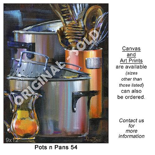 """Pots n Pans 54 - print"""