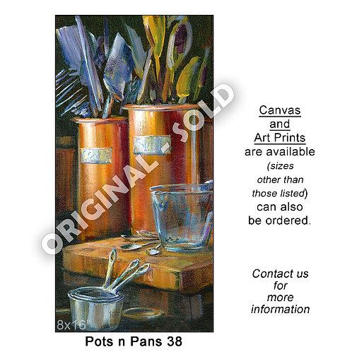 """Pots n Pans 38 - print"""