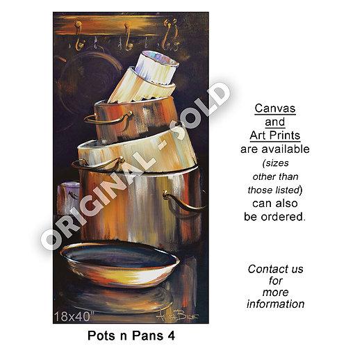 """Pots n Pans 4 - print"""