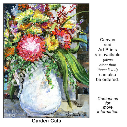 """Garden Cuts - print"""