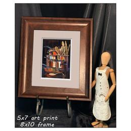SQUARE - 8x10 frame 5x7 Print wPenelope2