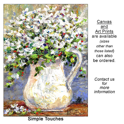 """""""Simple Touches - print"""""""