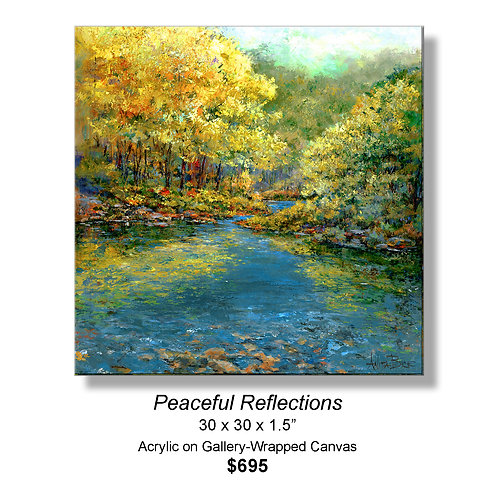 """Peaceful Reflections"""
