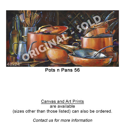 """Pots n Pans 56 - print"""
