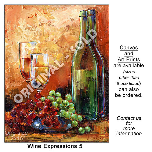 """Wine Expressions 5 - print"""