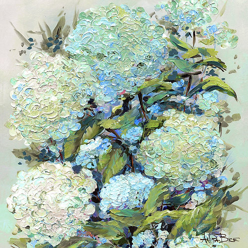 """""""Hydrangea Blue_4x4minis"""""""
