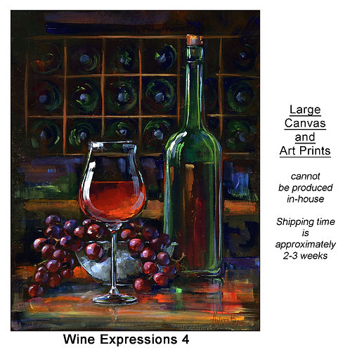 """""""Wine Expressions 4_large prints"""""""
