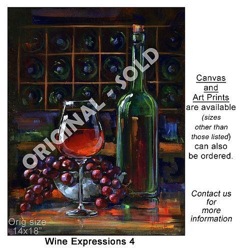 """Wine Expressions 4 - print"""