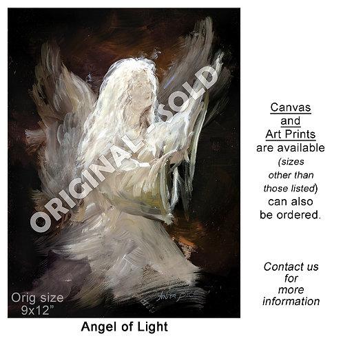 """Angel of Light - print"""