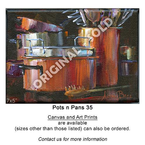"""Pots n Pans 35 - print"""