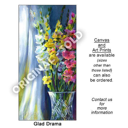 """Glad Drama - print"""