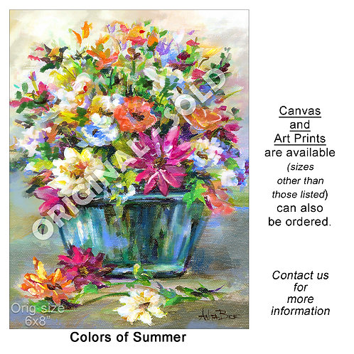 """Colors of Summer - print"""