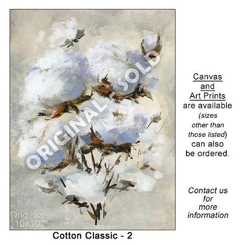 """Cotton Classic - 2 - print"""