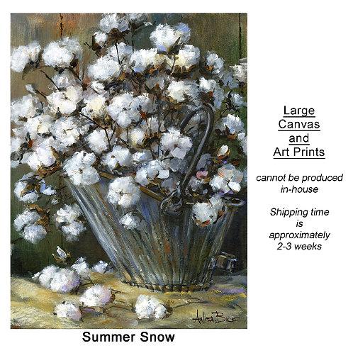 """Summer Snow_large prints"""