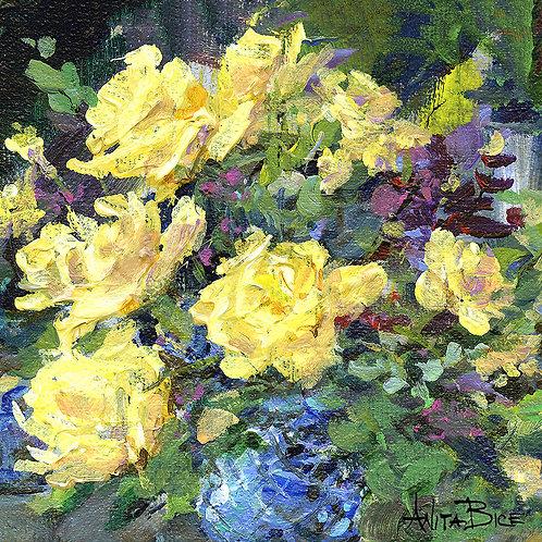 """Yellow Summer_4x4minis"""
