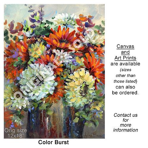 """""""Color Burst - print"""""""