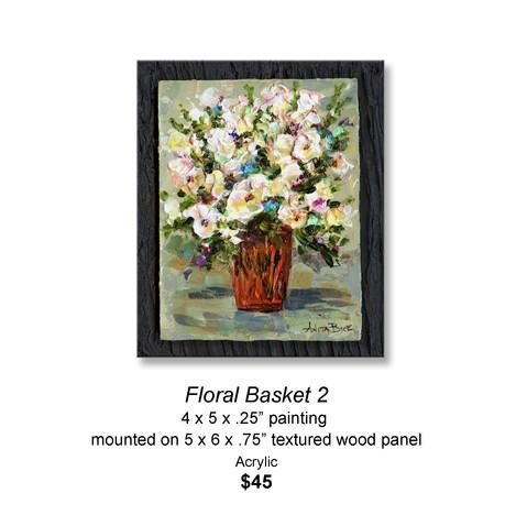 Floral Basket 2