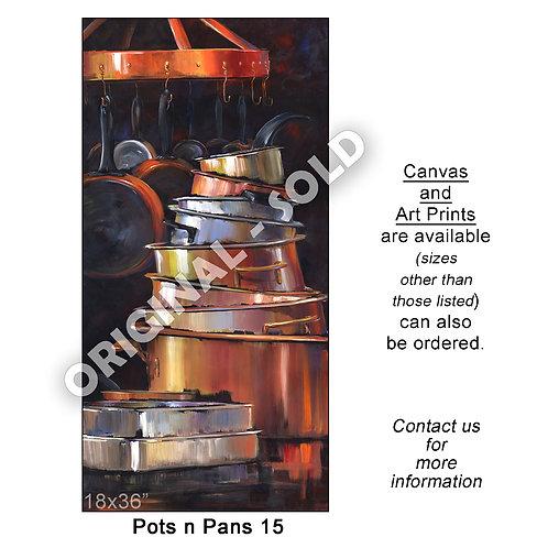 """Pots n Pans 15 - print"""