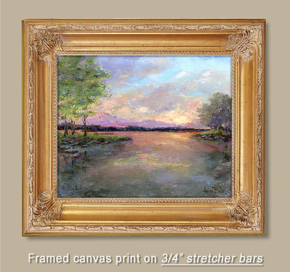 "Framed 3/8"" canvas print 40x30"""