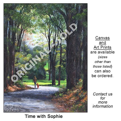 """""""Time with Sophie - print"""""""