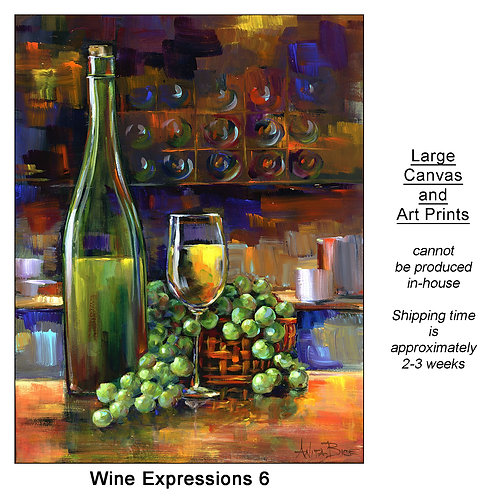 """""""Wine Expressions 6_large prints"""""""