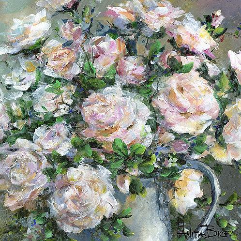 """Grandmother's Roses_4x4minis"""