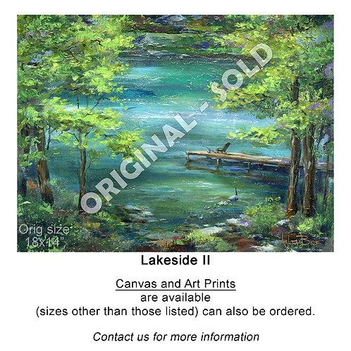 """Lakeside II - print"""
