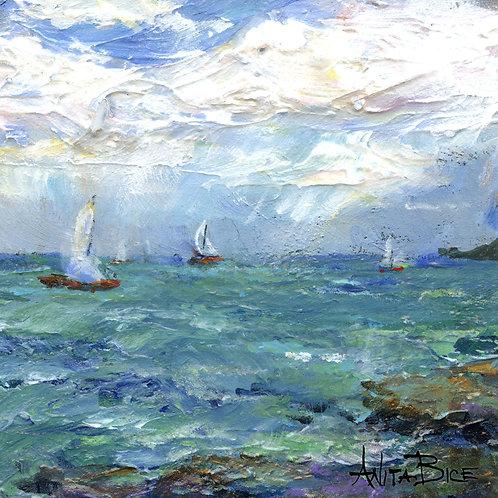 """""""Summer Sailing_4x4minis"""""""