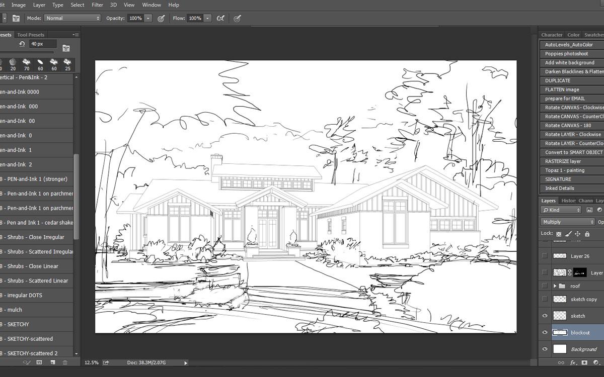 Rendering - Preliminary Sketch