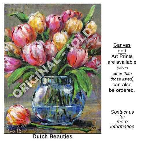"""Dutch Beauties - print"""