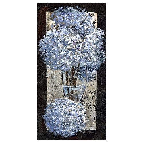 """""""Hydrangeas in Clear Vase"""""""