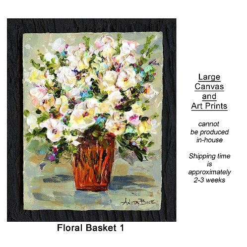 """""""Floral Basket 1_large prints"""""""
