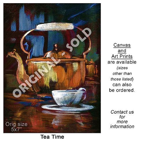 """""""Tea Time - print"""""""