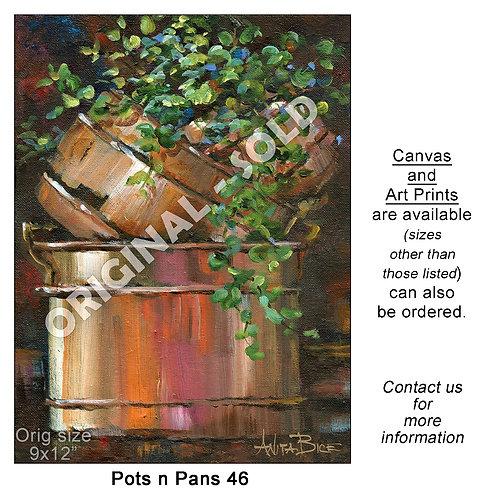 """Pots n Pans 46 - print"""