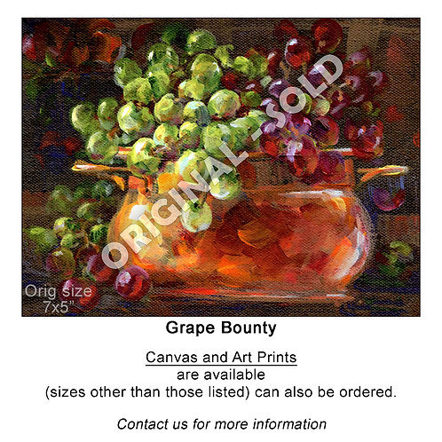 """Grape Bounty - print"""