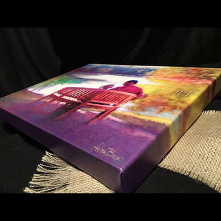 Example Gallery-Wrapped Canvas