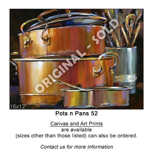 """Pots n Pans 52 - print"""