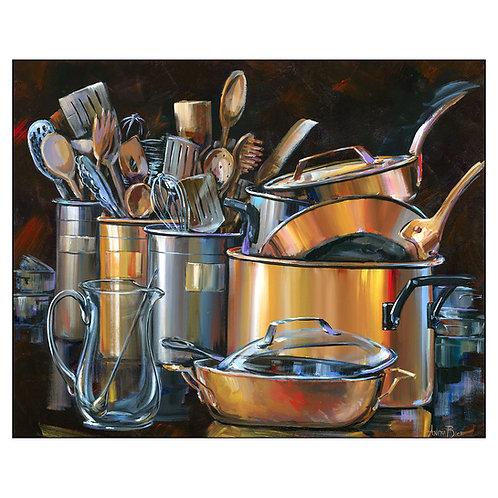 """Pots and Pans 68"""