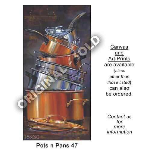 """Pots n Pans 47 - print"""