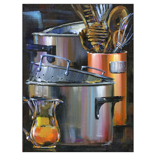 """Pots and Pans 54"""