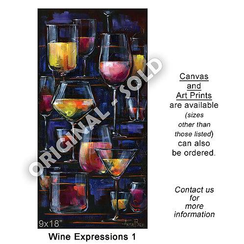 """Wine Expressions 1 - print"""