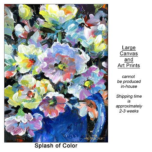 """""""Splash of Color_large prints"""""""