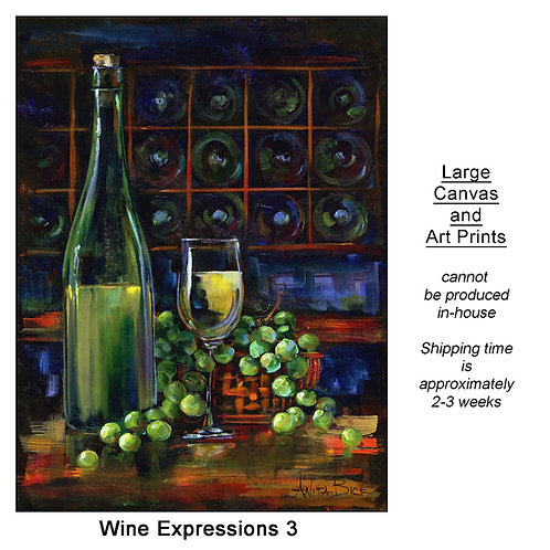 """""""Wine Expressions 3_large prints"""""""