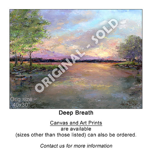 """Deep Breath - print"""