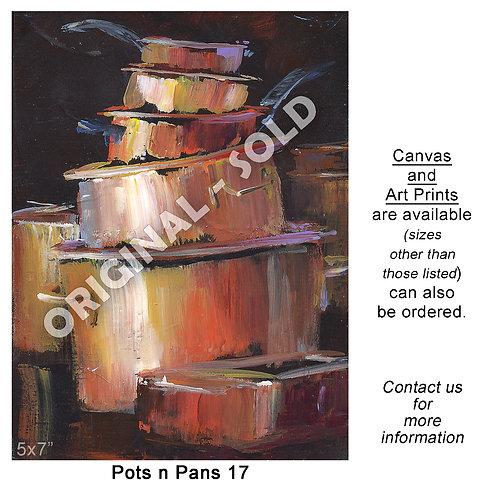 """Pots n Pans 17 - print"""