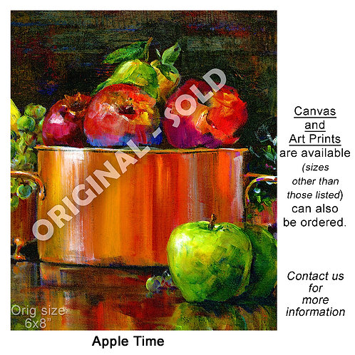 """Apple Time - print"""