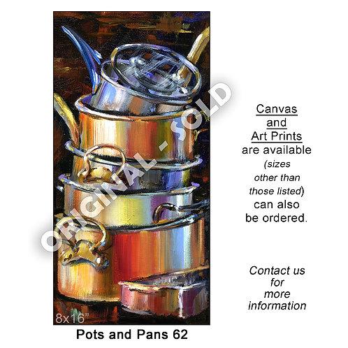"""Pots n Pans 62 - print"""