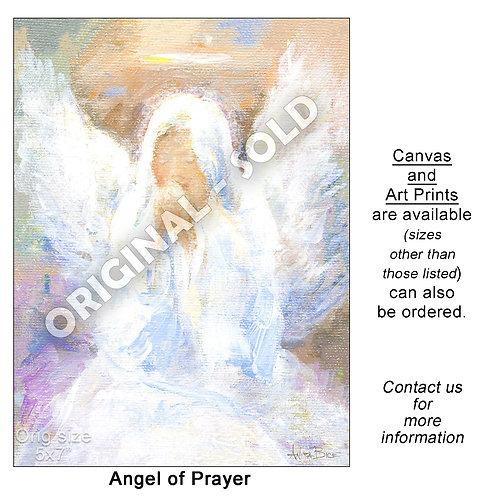 """Angel of Prayer - print"""