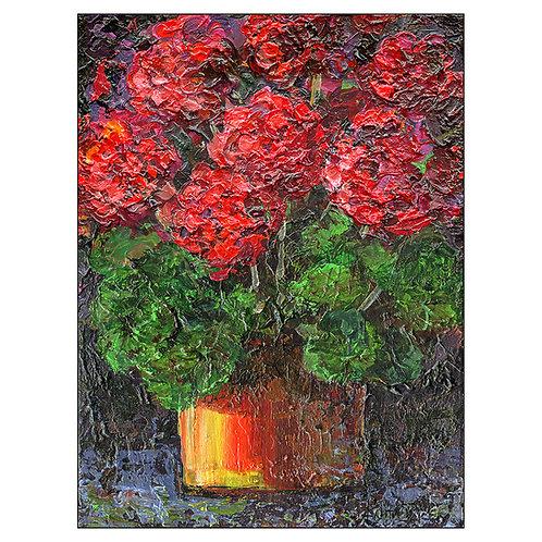 """""""Red Geraniums"""""""